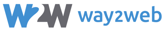 Way2Web logo